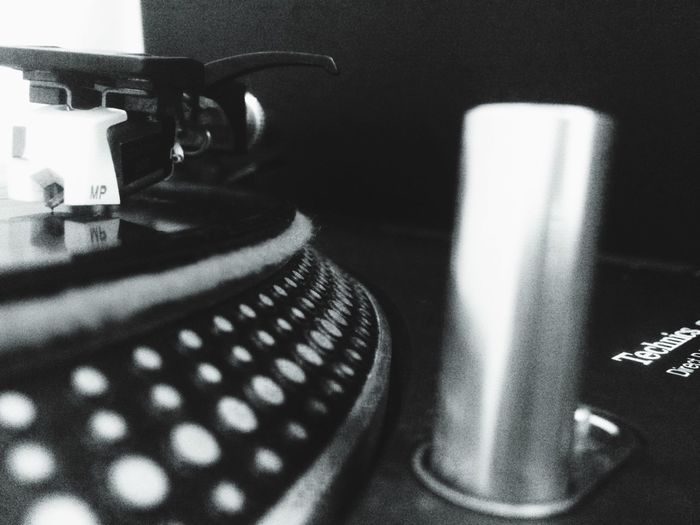 Turn table Hobby Technic 1200's My Hobby My House Spin Vinyl Records Count The Beats Music Is My Life BEATS Put The Needle To The Record Blackandwhite Photography Blackandwhite Sound