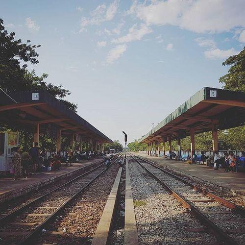 Ma Hlwa Gone Station OldRailway Igersmyanmar Yangoncirculartrain Myanmar Mobilephotography Burma Mobilephoto Samsungphoto Instagood Instagram Yourworldgallery Vacationinstyle Alphahype AOV Artofvisuals Asiaonetravelsnaps Silentpixels