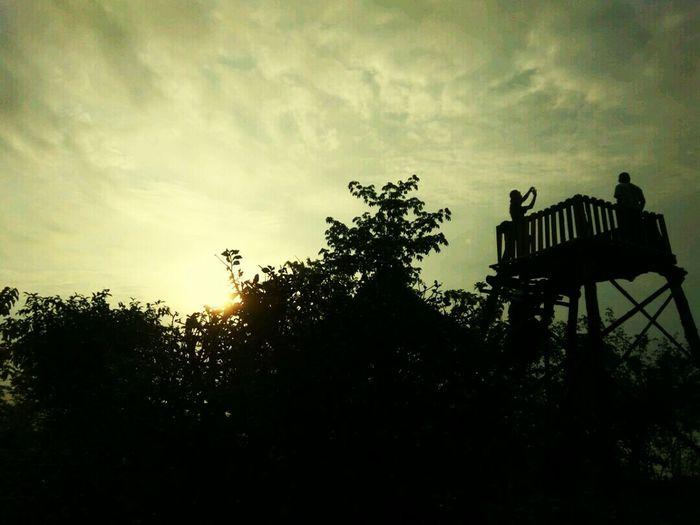 Bukitmojo Yogyakarta Sky Outdoors Nature Day Tree Sunset Cloud - Sky No People Silhouette First Eyeem Photo
