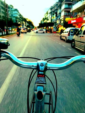 Bicycle tour in Alanya 🚴🏽♂️ Transportation Mode Of Transport Bicycle Street Land Vehicle Outdoors Travel Day Road City The Way Forward Architecture Building Exterior