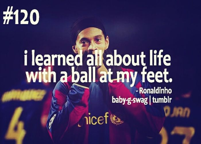 I Put All My Passion , Dedication , Blood , Sweat , And Tears To Playing Soccer  .