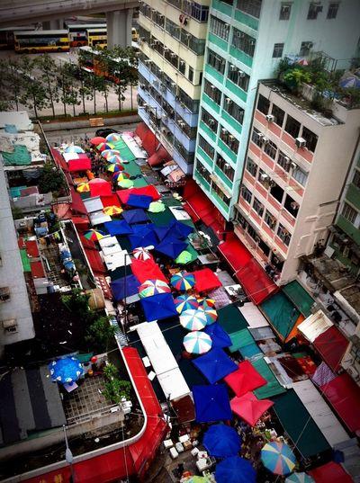 Market HongKong Taking Photos