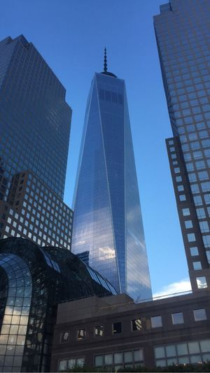 Cityscapes Freedom Tower Manhattan City America
