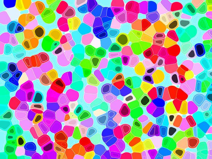 Full frame shot of multi colored umbrellas