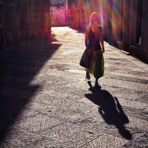 Sunday Morning Walk Streetphotography The Street Photographer - 2015 EyeEm Awards Walking Around The City  Light And Shadow City Geometry