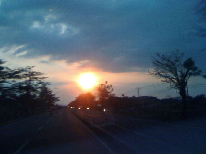 Sunset Central Java INDONESIA