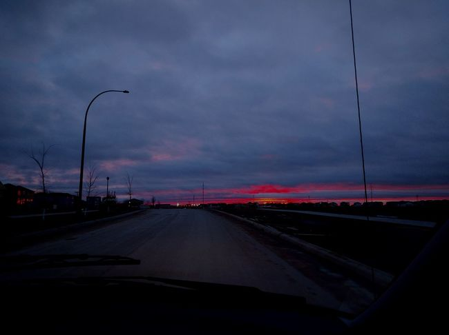 driving ominously Driving Home Dusk Dusk Drive Outdoors Urban Road Highway Car