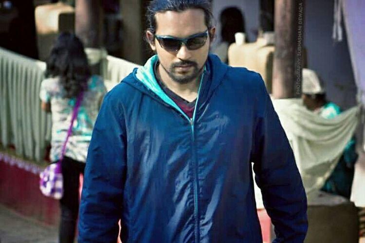 That's Me Walking Alone... at the famous Surajkundmela Incredible India