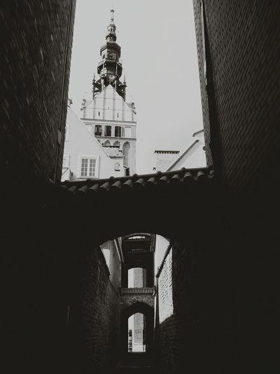 Katedra Elbląg Stare Miasto Tajne Przejscie Streetphotography
