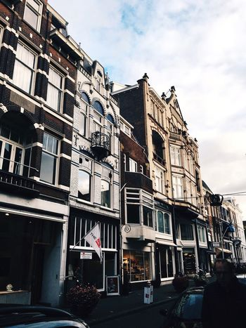 Architecture Building Exterior Built Structure Window Residential Building Low Angle View Day Outdoors Balcony Sky City No People The Hague VSCO Lifestyles