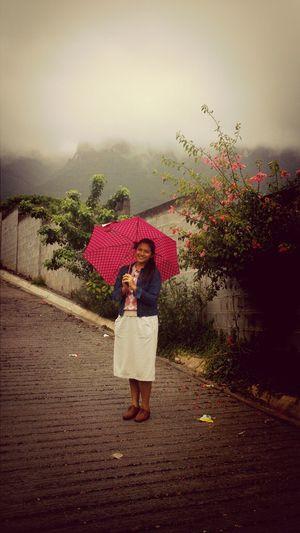 raining! <3