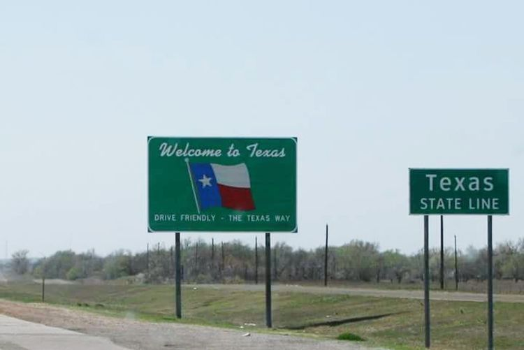Welcome to Texas. Welcome Sign Texas!!!! Awesome State Road Trip Lonestar State Road Sign We Made It Roll On Check This Out