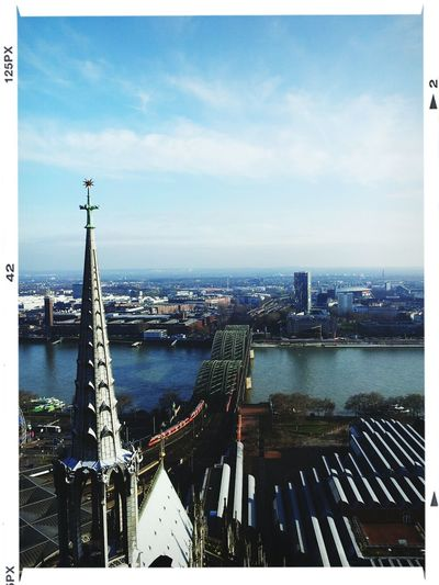 Köln Kölner Dom Aussicht Genießen Cologne Cologne Above The Roof Enjoying The View