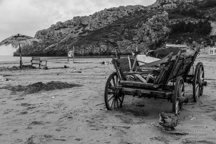 Abandonment Black & White Dereliction Desertion Beach Beauty In Nature Contrast Day Mountain Nature No People Outdoors Sand Scenics Sea Sky Tranquility Water Business Stories