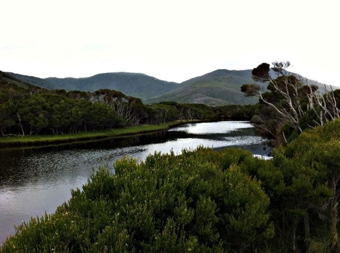 Tidal River at Wilson's Promontory Landscape_Collection Australia Wilderness Water_collection