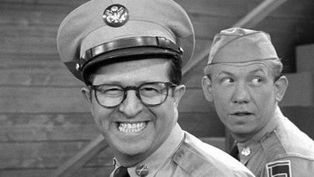 Phil Silvers aka Sgt Bilko