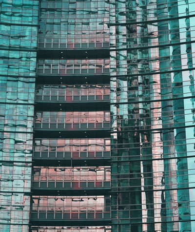 Built Structure Architecture Building Exterior Building Window No People City Glass - Material Modern Day Outdoors Office Building Exterior Pattern Reflection Low Angle View Office Construction Industry Glass Skyscraper Milano City