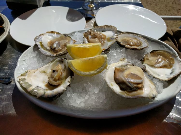Ostras Marisco Moluscos Comida Showcase April Street Food Worldwide