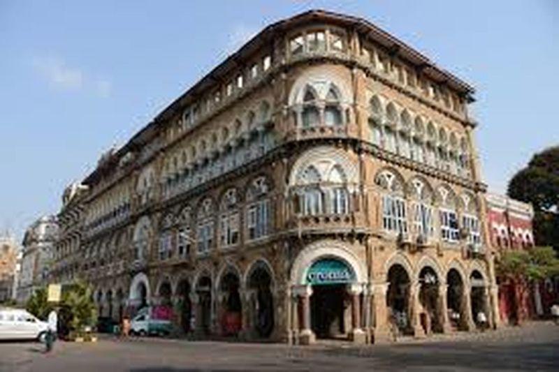 commercial building,horiman circle mumbai. heritage building Architecture