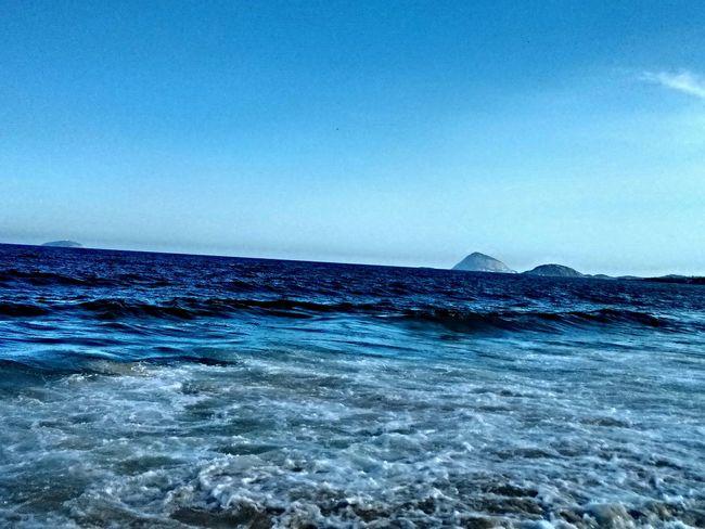 Copacabana Rio De Janeiro Beach Sea