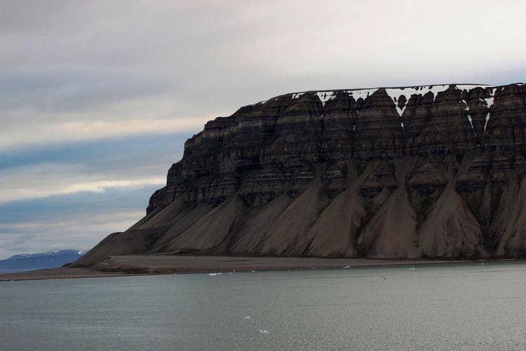 Tempelfjorden Beauty In Nature Cloud - Sky Nature Rock Formation Scenics - Nature Sea Sky