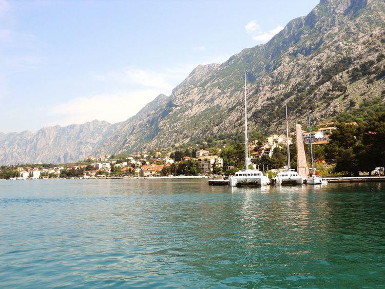Montenegro Travel Nikonphotography Landscape Seaside In A Sea Town Eyeem Travel