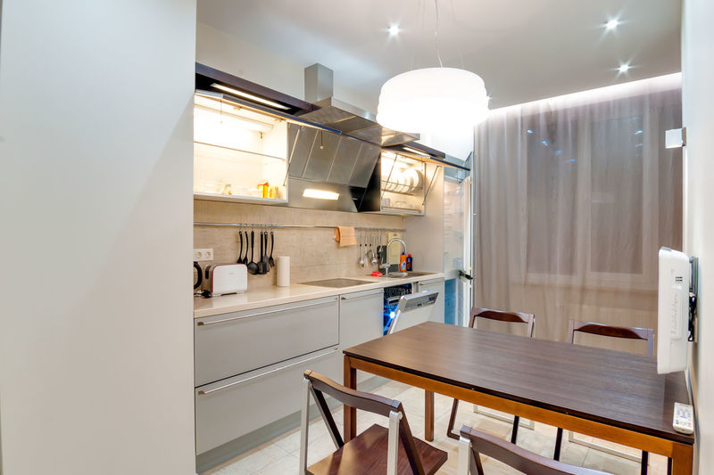 Home Domestic Room Indoors  Home Interior Home Showcase Interior Seat Luxury Modern Illuminated Absence Wealth No People Furniture Lighting Equipment Wood - Material Kitchen Domestic Kitchen Chair Architecture Household Equipment Ceiling Light