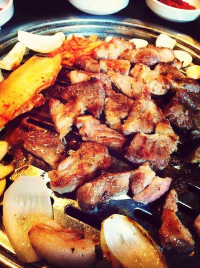 삼겹살 Samgyeopsal  Delicious Korean Food