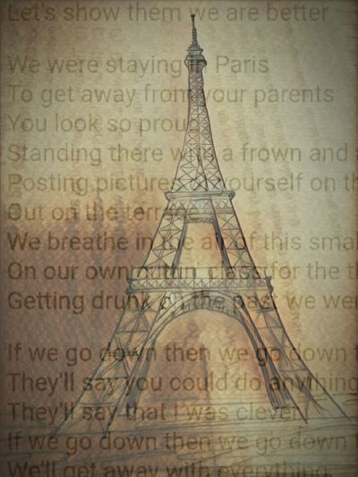 Paris Travel Destinations History Ancient Architecture No People Ancient Civilization Indoors  Day Close-up Eiffel Tower Chainsmokers