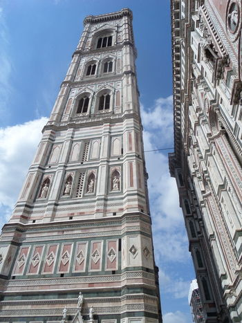 Florence Italy Duomo Santa Maria Del Fiore History Tower Architecture Travel Tourism Day