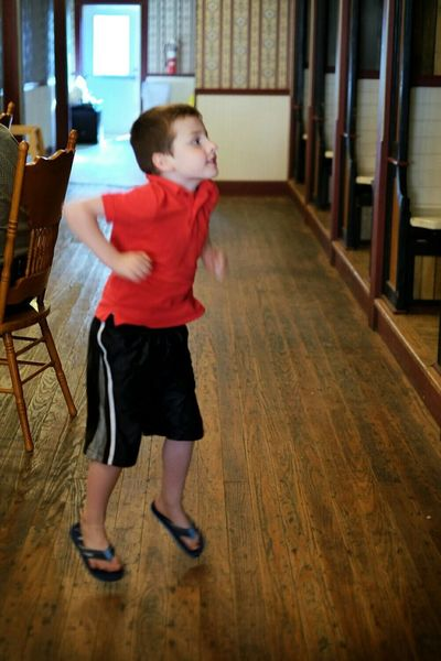 Kids Being Kids Jump For Joy! Restaurant Old Timey Saloon Kansas A Day In The Life Taking Photos Candid Photography Country Music