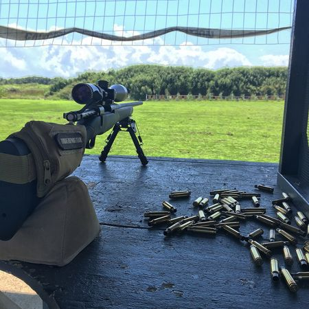 Great day at the range Mossberg 308 Guns Sniper Rifle Shooting GunRange