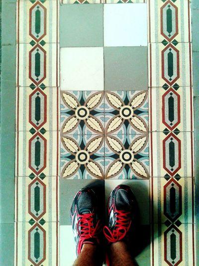 Onde eu passo... Whereilive Tiled Floor Tiles Recife, BRASIL Myfoot