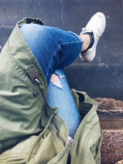 You're mah fave. Jeans Real People Denim Shoe Lifestyles Sitting Outdoors Gift Fromhim Heart Heartbeat Moments Visualpoetry