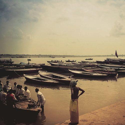 Varanasi India EyeEm Best Edits Eye4photography  Amazing Bestoftheday Showcase March Water People Beautiful River