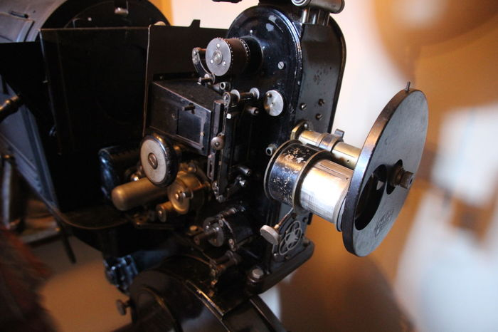 Camera - Photographic Equipment Classic Close-up Day Film Film Industry Filming Modern Movie Projector No People Old Projector Old-fashioned Photography Themes