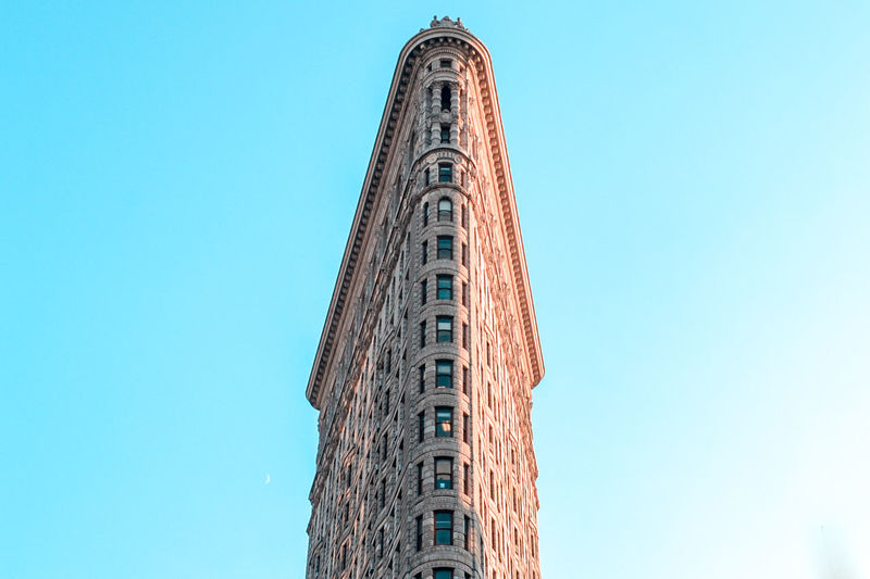Architecture Blue Building Building Exterior Built Structure City Clear Sky Copy Space Day History Low Angle View Nature No People Office Building Exterior Outdoors Sky Skyscraper Tall - High The Past Tourism Tower Travel