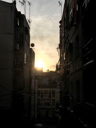 Building Exterior Architecture Built Structure Sunset Sky No People Window Residential Building Sunlight Outdoors City Day