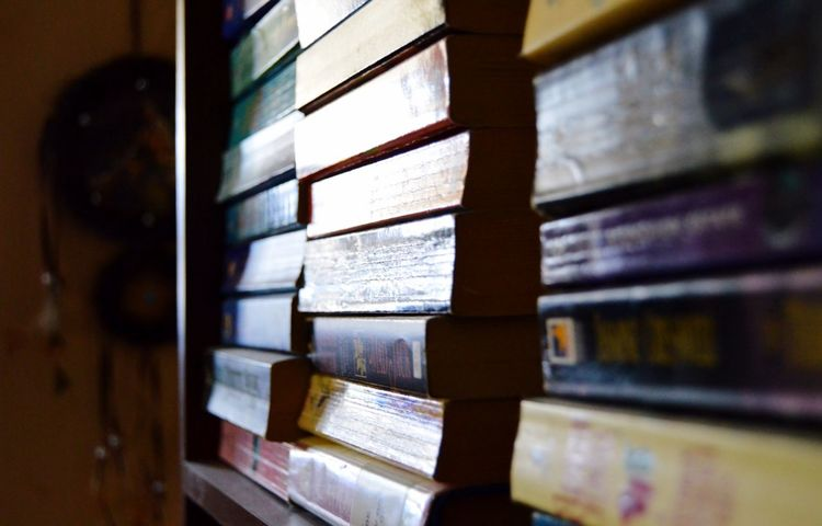Books Bookshelf Dreamcatcher Closeup Reading Book Reading A Book