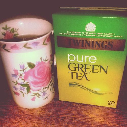 Slight detox going on Greentea Healthy Detox Iwantpunjana