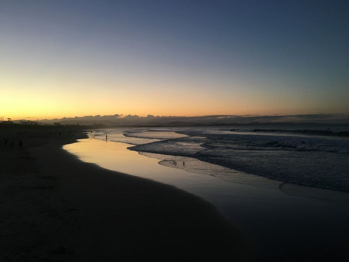 Byron Bay Ocean Australia Byron Bay Byronbay Water Sky Scenics - Nature Beach Tranquility Tranquil Scene Sea Idyllic Reflection Clear Sky Nature Sunset Land Beauty In Nature Outdoors Auszralien
