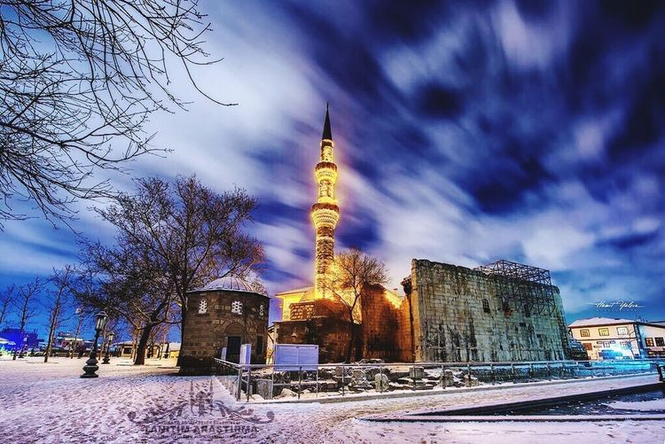 Hacı Bayram-ı Veli Cami Mosque My Love City Asivemavi Hello World Happy Enjoying Life Taking Photos Gecenin Guzelligi Winter Ankara Ayaz Showcase: January Krmz1978 Aşk💞aşk💞aşk IPhoneography
