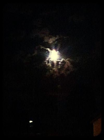 Луна над девяткино)