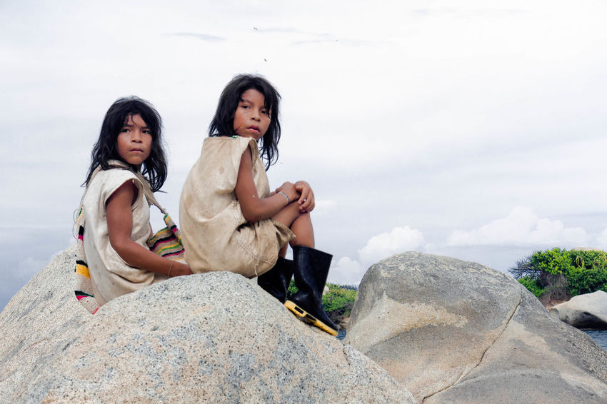 Indigenas Kogui, Santa Marta Colombia Nature Portrait Indigenous People Children Photography Culture Razor Indigenous Culture Kogui Colombia First Eyeem Photo