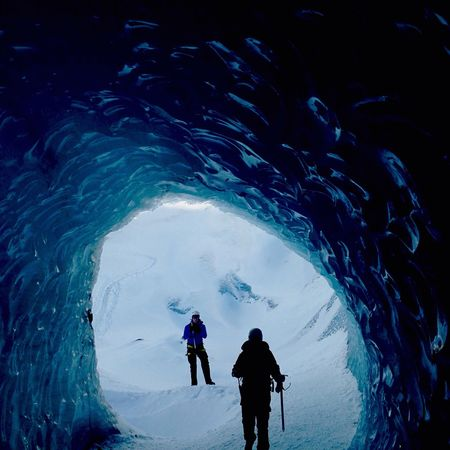 Ice Tunnel Iceland Glacier The Great Outdoors - 2017 EyeEm Awards