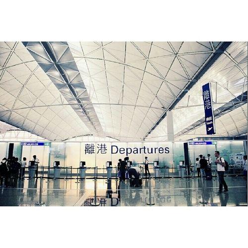 Say bye bye to hongkong Wish me luck See you guys next month Byebye HongKong 852 Hkig Hkiger igershkhkmoodtrip