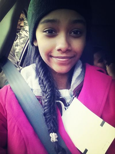 omw back from snow mountain. (: