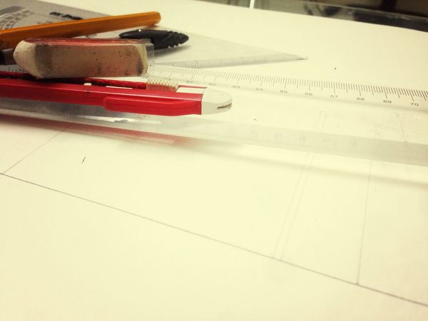 Drawing Interior Design Photography