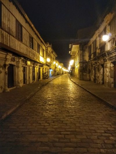 Night Illuminated No People City Architecture Outdoors Eyeem Philippines Heritage Building Heritage Site