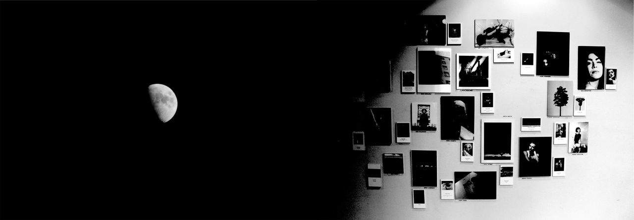 Abstract Architecture Blackandwhite Collage Day Ink Monochrome Moon Nature No People Outdoors Panorama Sky Welcome To Black EyeEm Ready   Capture Tomorrow